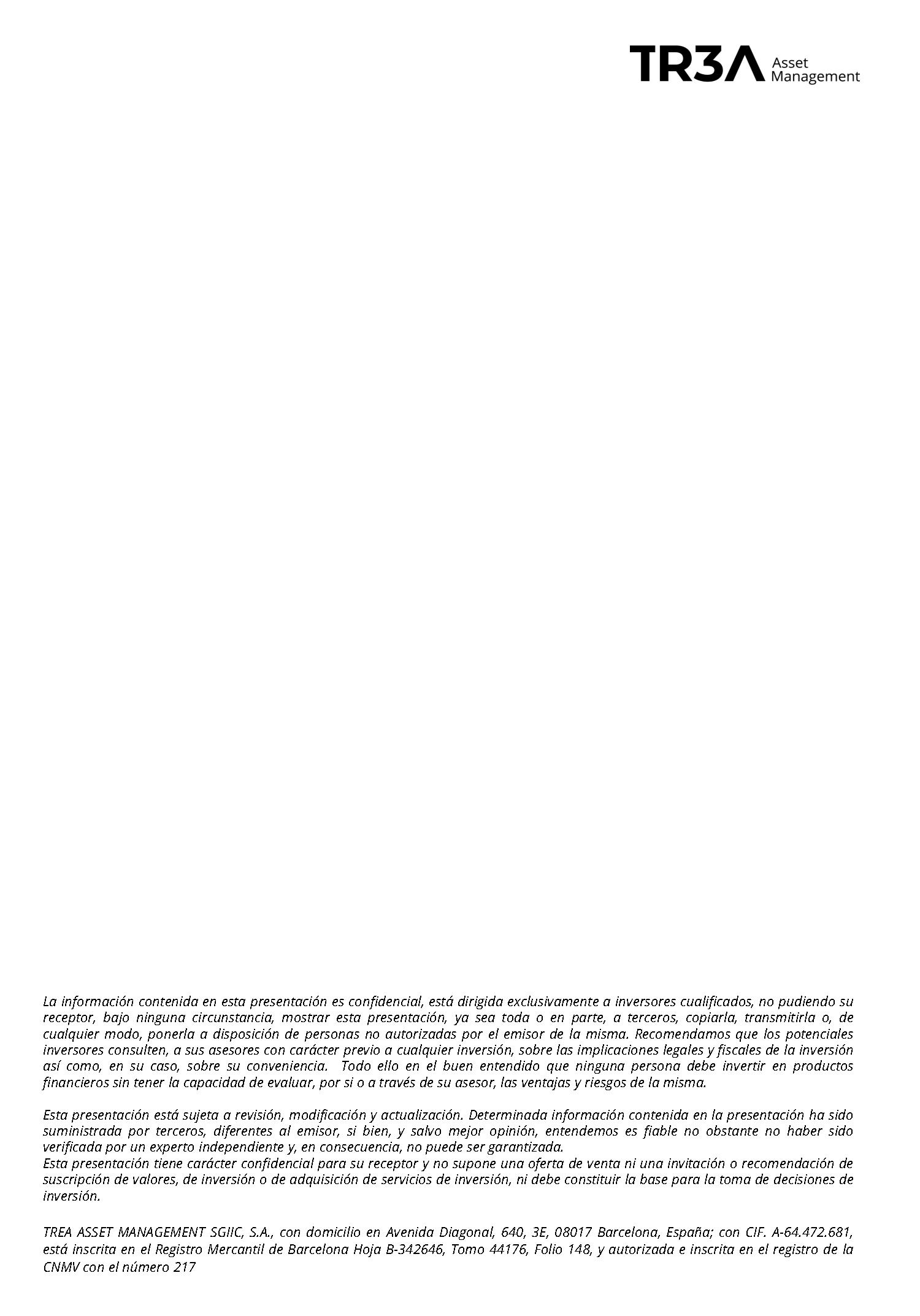 , Análisis de Mercados (Octubre)