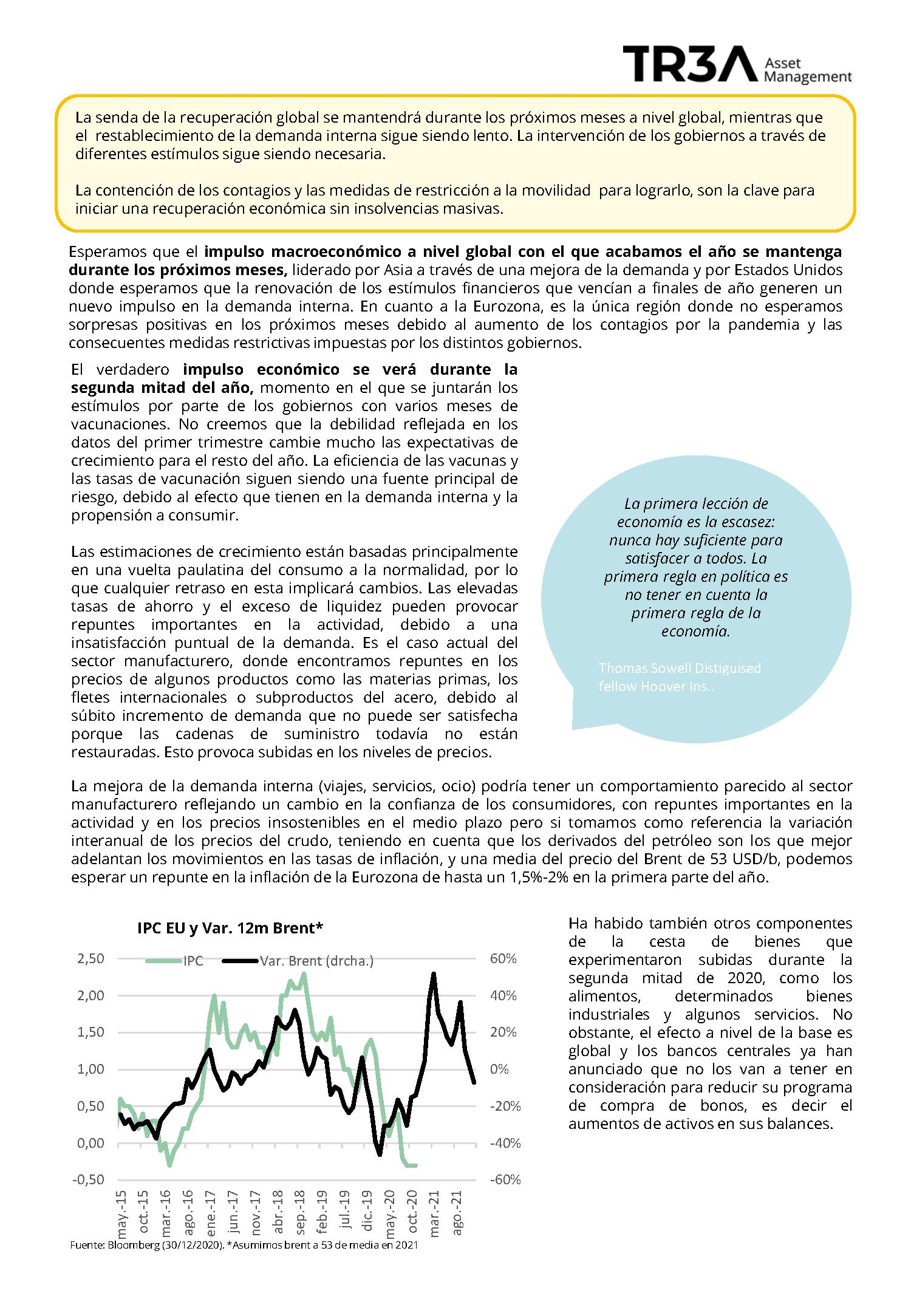 , Análisis de Mercados (Enero)